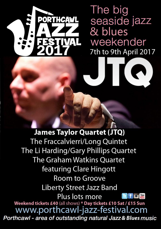 Porthcawl Jazz Poster 2017